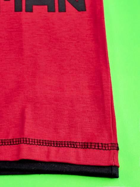 Czerwony t-shirt chłopięcy SPIDERMAN                                  zdj.                                  5