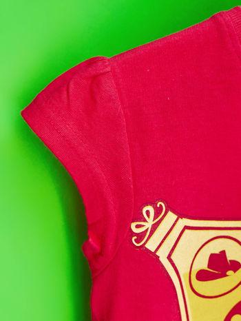 Czerwony t-shirt dla dziewczynki EQUESTRIA GIRLS                                  zdj.                                  6