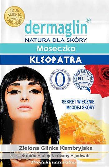 DERMAGLIN Naturalna Maseczka Kleopatra (sekret wiecznie młodej skóry) 20 g                              zdj.                              1