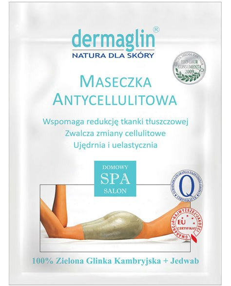 DERMAGLIN Naturalna maseczka na ciało antycellulitowa 100 g                              zdj.                              1