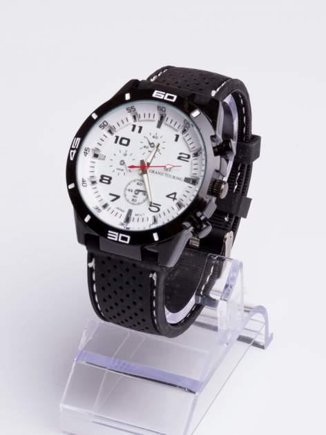 DLA NIEGO... Biały sportowy zegarek męski GT GRAND TOURING                                  zdj.                                  2
