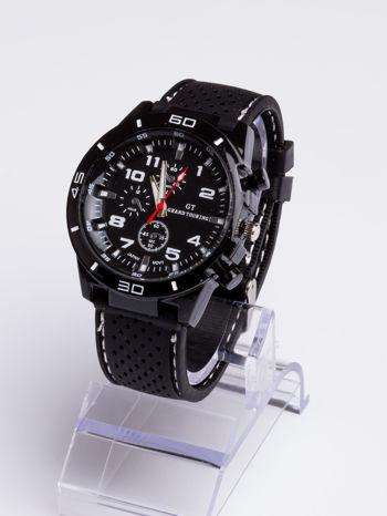 DLA NIEGO... Czarno-biały sportowy zegarek męski GT GRAND TOURING                                  zdj.                                  2