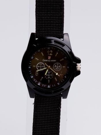 DLA NIEGO... Czarny zegarek męski ARMY                                  zdj.                                  3