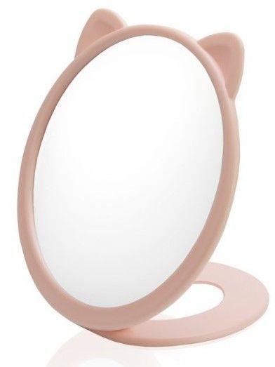 DONEGAL Jednostronne lusterko kosmetyczne FUNNY LOOK stojące Kot 16cm (4535)
