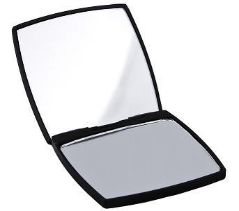DONEGAL Lusterko kompaktowe Black Chic 7 kwadratowe (4524)