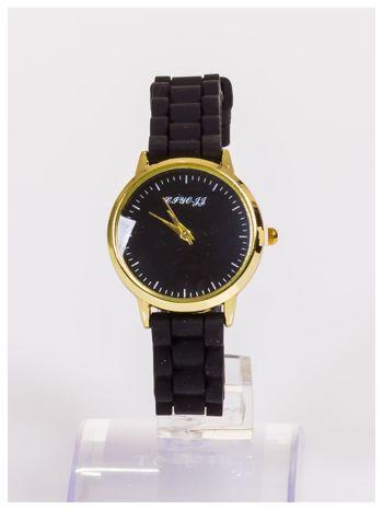 Damski zegarek z małą tarczą na silikonowym wygodnym pasku                                   zdj.                                  1