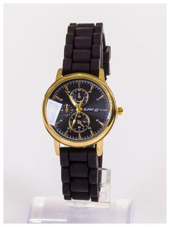 Damski zegarek z ozdobnym chronografem na tarczy                                  zdj.                                  1
