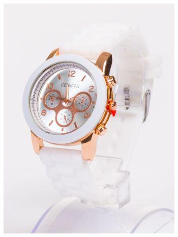 Damski zegarek z ozdobnym tachometrem, na wygodnym pasku                                  zdj.                                  2