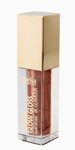 """Delia Cosmetics Be Glamour Pomadka w płynie Cream Glow Gloss nr 504 Be My 5ml"""""""