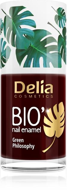 "Delia Cosmetics Bio Green Philosophy Lakier do paznokci nr 612 Cherry  11ml"""
