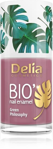 "Delia Cosmetics Bio Green Philosophy Lakier do paznokci nr 627 Kiss Me  11ml"""