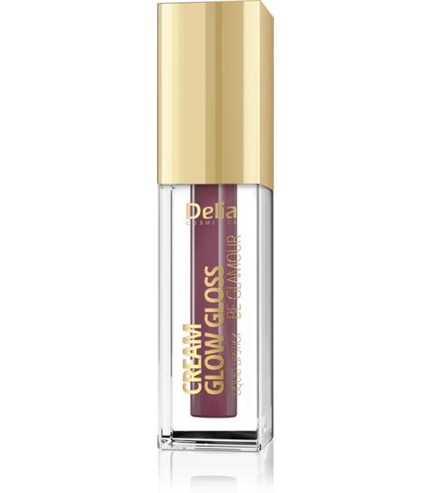 """Delia Cosmetics Cream Glow Gloss Pomadka w płynie nr 207 Lola  5ml"""""""