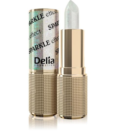 "Delia Cosmetics Glamour Pomadka do ust Sparkle Effect nr 601 it's happening  4g"""