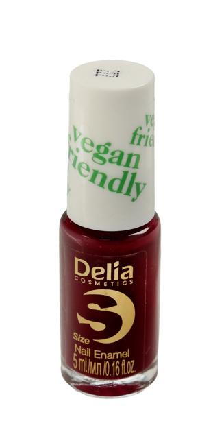 "Delia Cosmetics Vegan Friendly Emalia do paznokci Size S nr 222 Double Date 5ml"""