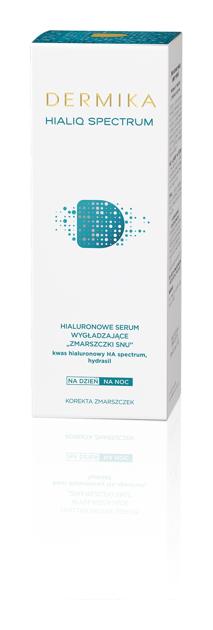 """Dermika HialiQ Spectrum Hialuronowe serum wygładzające """"zmarszczki snu""""  30ml"""""""