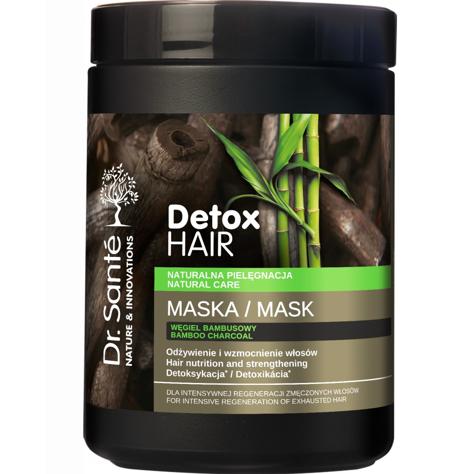"""Dr.Sante Detox Hair Maska regenerująca do włosów z węglem bambusowym 1000ml"""""""