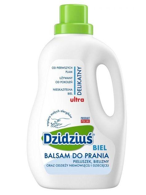 Dzidziuś Balsam do prania Ultradelikatny Biel 1,5 l                              zdj.                              1