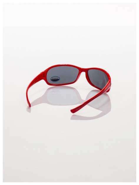Dziecięce czerwone okulary przeciwsłoneczne z filtrami                                  zdj.                                  3