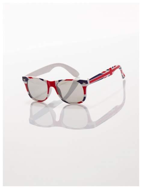 Dziecięce okulary z klasyczną oprawką WAYFARER NERD z filtrami odporne ne wyginania                                  zdj.                                  1