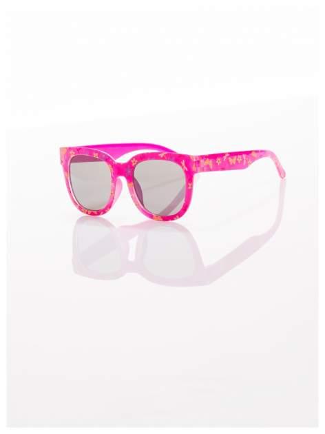 Dziecięce różowe okulary odporne na wyginania z filtrami