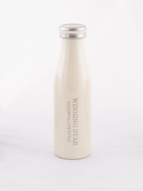 Ecru butelka termos z zakrętką                               zdj.                              3