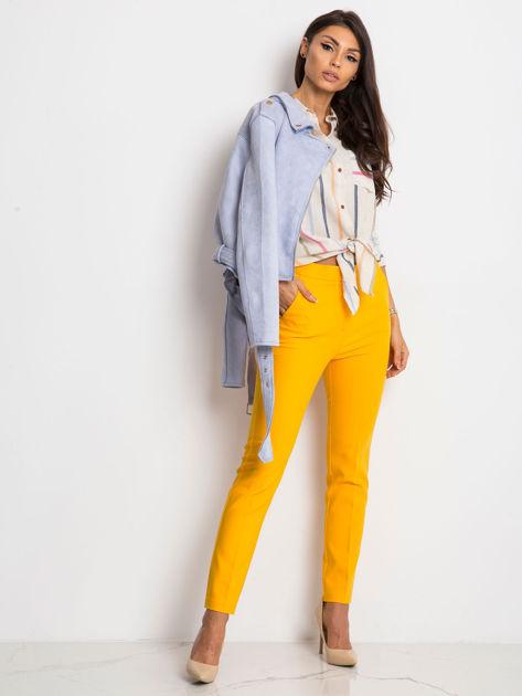 Ecru-niebieska koszula Sprinkle                              zdj.                              4
