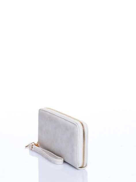 Ecru portfel z rączką                                  zdj.                                  2
