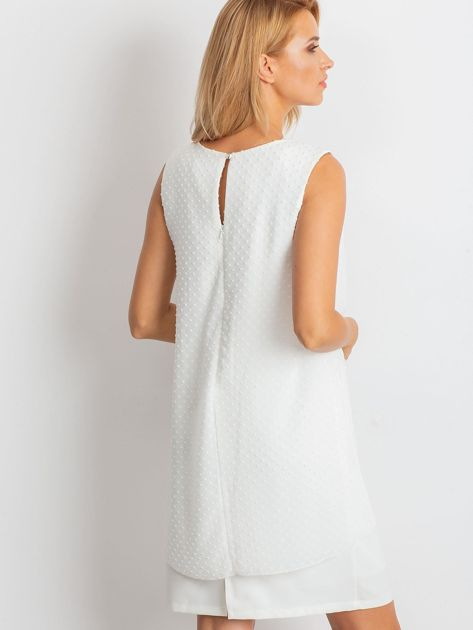Ecru sukienka Suve                              zdj.                              2