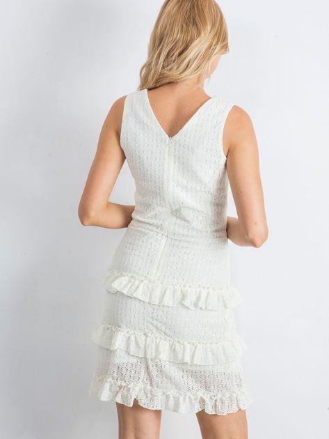 Ecru sukienka Versatility                              zdj.                              2