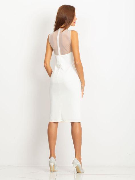 Ecru sukienka Vibes                              zdj.                              2