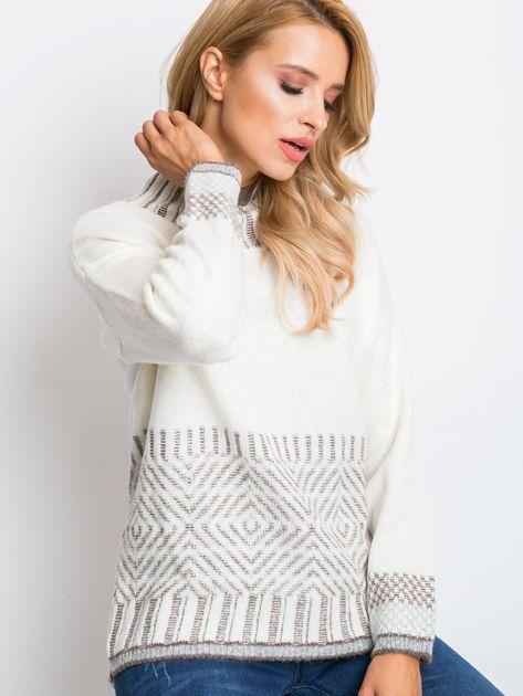 Ecru sweter Hope                              zdj.                              1