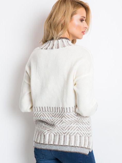 Ecru sweter Hope                              zdj.                              2