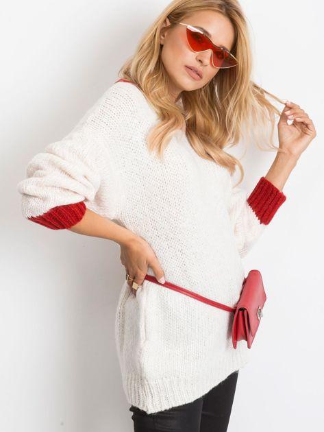 Ecru sweter Pretty                              zdj.                              3