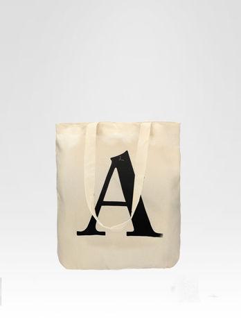 Ekotorba na zakupy z nadrukiem litery A