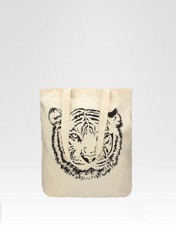 Ekotorba na zakupy z nadrukiem tygrysa                                  zdj.                                  1