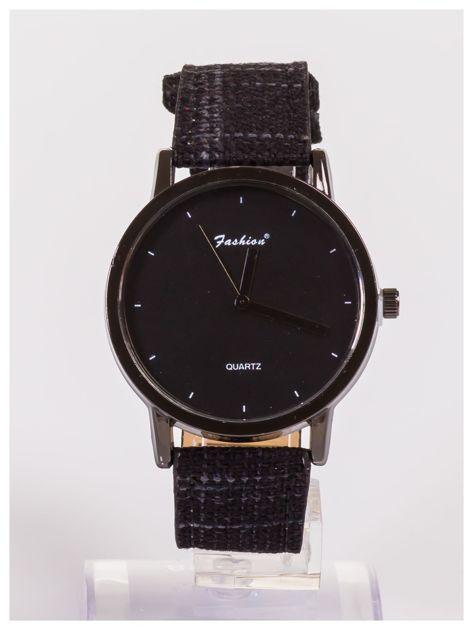 FASHION nowoczesny czarny zegarek                               zdj.                              1