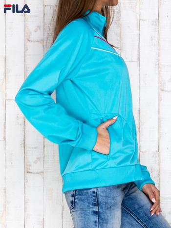 FILA Niebieska bluza zapinana na suwak                                  zdj.                                  3