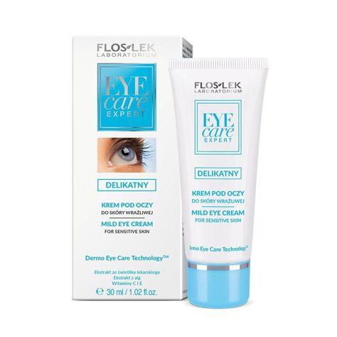 FLOSLEK Delikatny krem pod oczy do skóry wrażliwej  30 ml