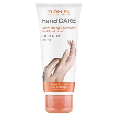 FLOSLEK Krem do rąk i paznokci delikatny  z proteinami kaszmiru 100 ml