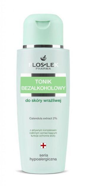 FLOSLEK Tonik bezalkoholowy  do skóry wrażliwej   150 ml