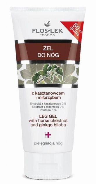 FLOSLEK Żel  do nóg z kasztanowcem i miłorzębem 200 ml