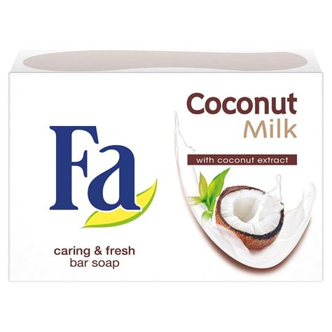 """Fa Coconut Milk Mydło w kostce kremowe kokosowe  90g"""""""