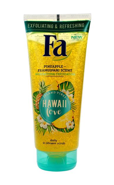 """Fa Hawaii Love Peeling myjący do ciała  200ml"""""""