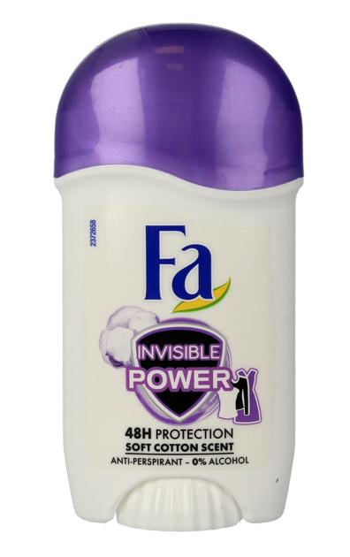 "Fa Invisible Power 48H Dezodorant w sztyfcie  50ml"""