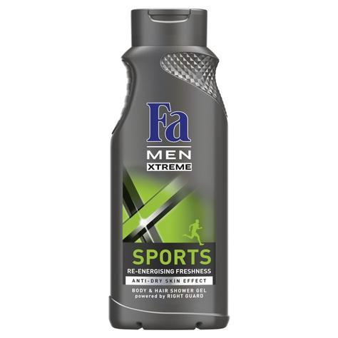 """Fa Men Xtreme Sports Żel pod prysznic 400ml"""""""