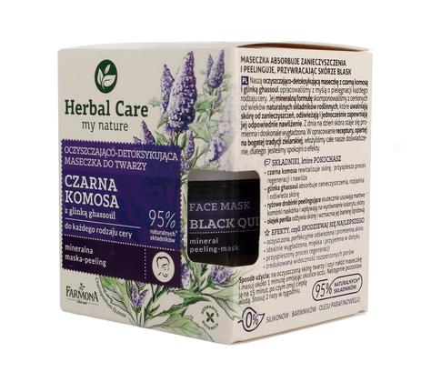 """Farmona Herbal Care Maseczka do twarzy oczyszczająco detoksykująca Czarna Komosa  50ml"""""""