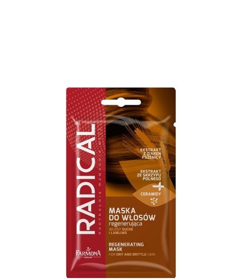 """Farmona Radical Maska do włosów regenerująca - włosy suche i łamliwe  20g-saszetka"""""""