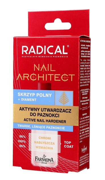 """Farmona Radical Nail Architect Aktywny Utwardzacz do paznokci  12ml"""""""