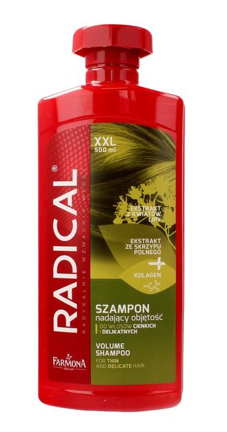 """Farmona Radical Szampon nadający objętość do włosów cienkich i delikatnych  500ml"""""""