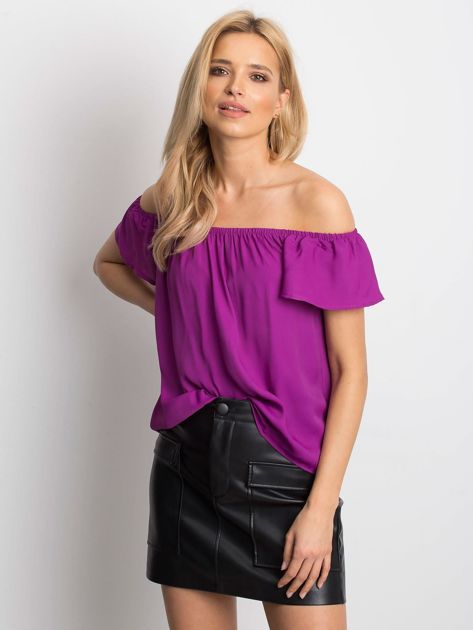 Fioletowa bluzka Mirage                              zdj.                              1